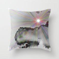 Solar Sky Throw Pillow