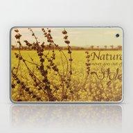 Mustard Plant Laptop & iPad Skin