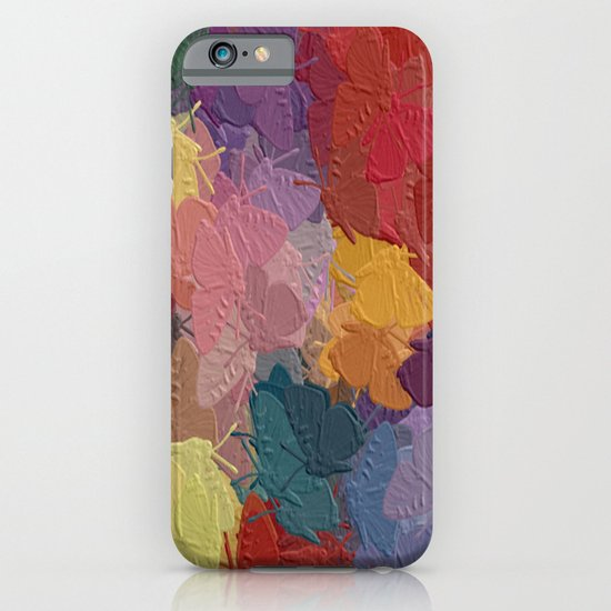 Butterflies are free iPhone & iPod Case
