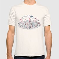 two worlds Mens Fitted Tee Natural SMALL