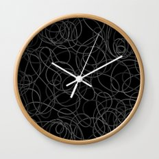 Time is elastic Wall Clock