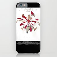 iPhone & iPod Case featuring In space no one can hear you scream  by Tom Canty Illustration
