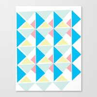 Deco 3 Canvas Print