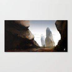 Landscape Experiment Canvas Print
