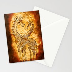 Henna Giraffe Stationery Cards