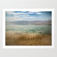 Dead Sea #1 Art Print