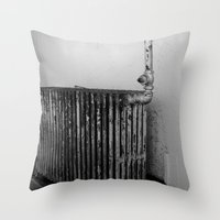 Decaying climate Throw Pillow