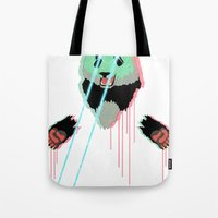 Panda with F$%king Lazers Tote Bag