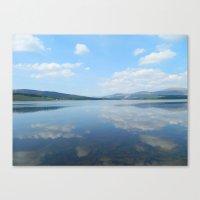 Loch Clatteringshaws SW Scotland Canvas Print