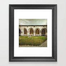 Ghost Abbey Framed Art Print