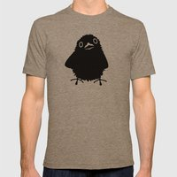 Baby Raven, Hi Mens Fitted Tee Tri-Coffee SMALL