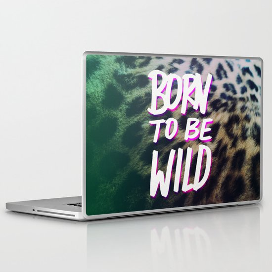 Born to Be Wild Laptop & iPad Skin