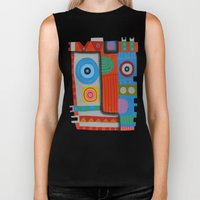 Your self portrait Biker Tank