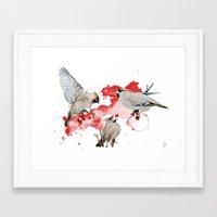 Feeding Time Framed Art Print