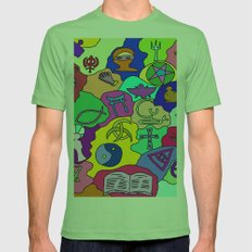 Fantasy Mens Fitted Tee Grass SMALL