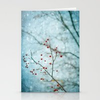Snowberry Stationery Cards