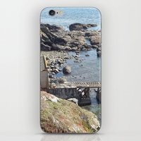 Lifeboat Station, Cornwa… iPhone & iPod Skin