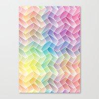 Zigzag & Zigzag Canvas Print