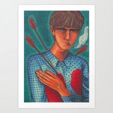 Seymour, the Human Target Art Print