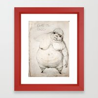 Come to daddy Framed Art Print