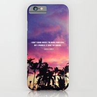 1980's sunset and quote iPhone 6 Slim Case