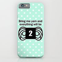 bring me yarn and everything will be fine iPhone 6 Slim Case