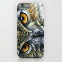 iPhone & iPod Case featuring Owl 811 by S-Schukina