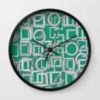 Picture Frames Aplenty G… Wall Clock