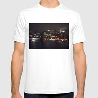Where I Am Mens Fitted Tee White SMALL