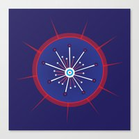 Radiolarian 5 Canvas Print