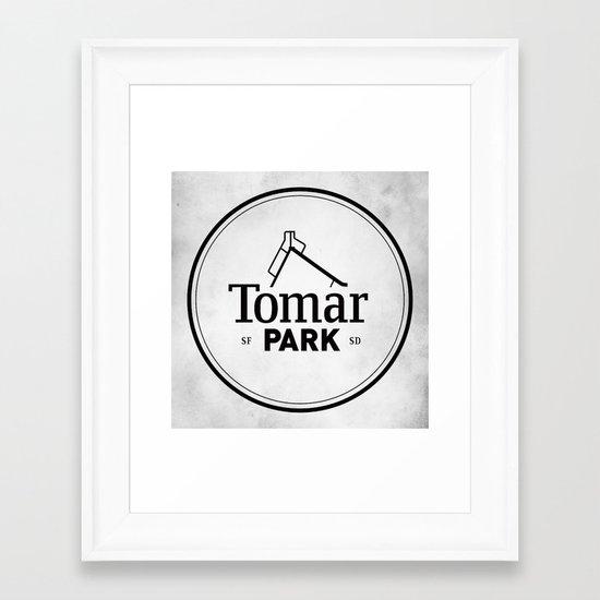 Tomar Park Framed Art Print