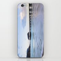 Hanalei Bay Pier at Sunrise iPhone & iPod Skin