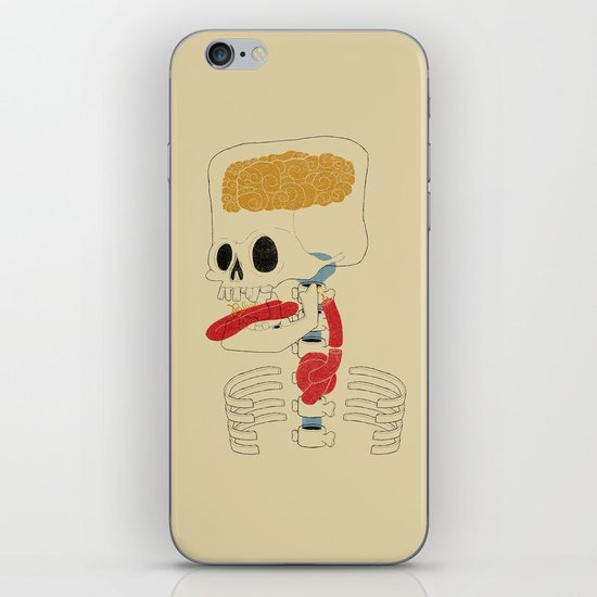 Square Skull...   iPhone & iPod Skin