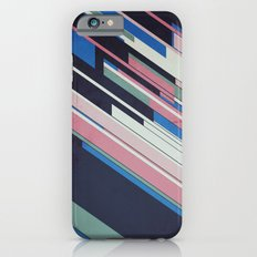 Retro Blue iPhone 6 Slim Case