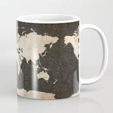 World Map - Ink lines Mug