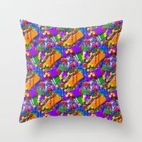 The Big O (Drip Porn Pattern) Throw Pillow