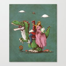 historical reconstitution Canvas Print