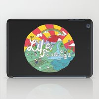 Life is All Right (Color) iPad Case