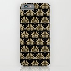 Tan & Black Daisies Slim Case iPhone 6s