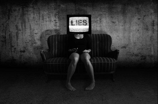 Lies Canvas Print