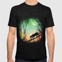 Through The Brush Mens Fitted Tee Tri-Black SMALL