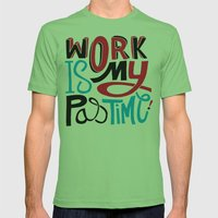 Pastime Mens Fitted Tee Grass SMALL