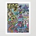 How It's Made: Skateboard Edition Art Print