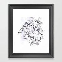 Crazzy IV Framed Art Print