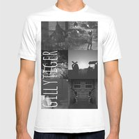 gillytiger Mens Fitted Tee White SMALL