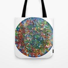 Planet Phoenix - Gouache on paper Tote Bag