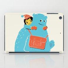 Blue-Monster Piggy-Ride iPad Case