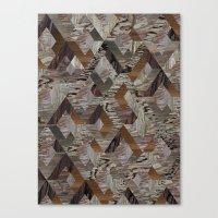 Wood Quilt Canvas Print