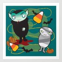 VooDoo Vampire Art Print