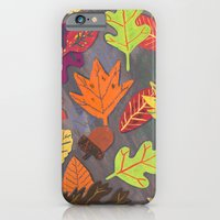 Autumn Leaves Pattern iPhone 6 Slim Case